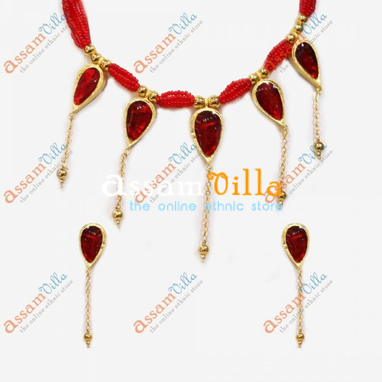 New Design Paat Haar Golpota Necklace Jewellery Set