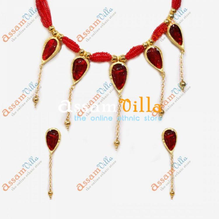 New Design Paat Haar Golpota Necklace Jewellery Set