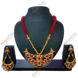 Big Size Bena Pendant Jewellery Set